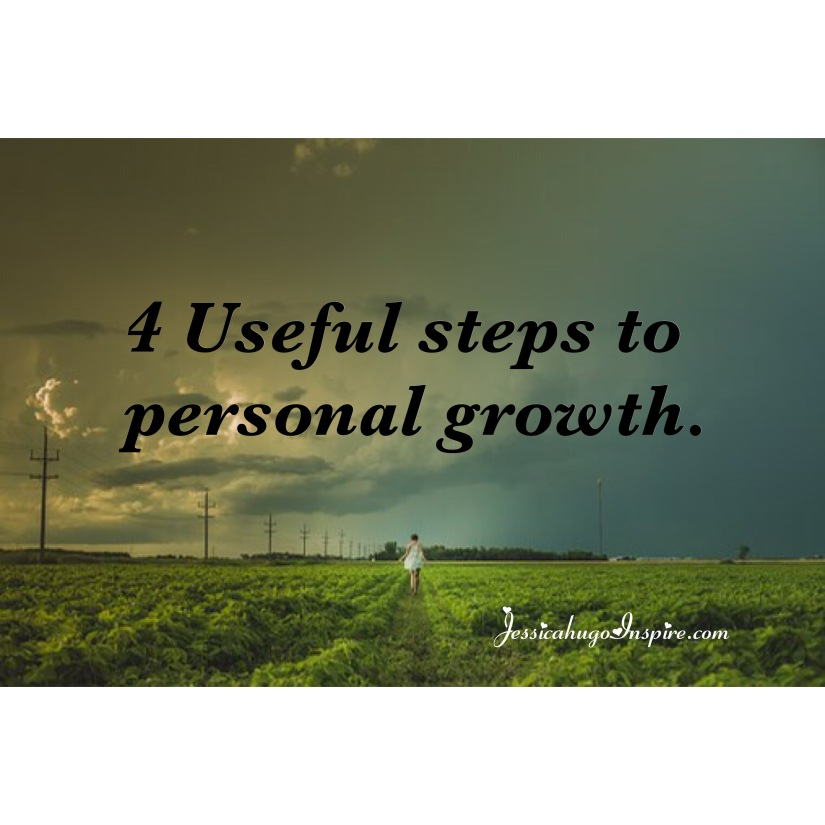 4 Useful steps to personal growth.