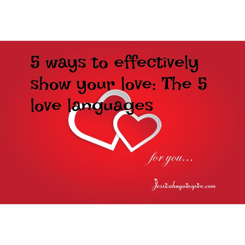 The 5 most effective ways to show your love.