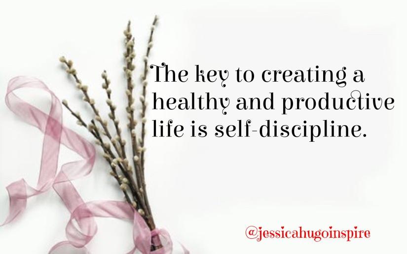 Self discipline quote.