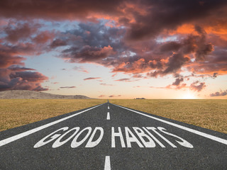 good habits will lead you to achieve your goals.