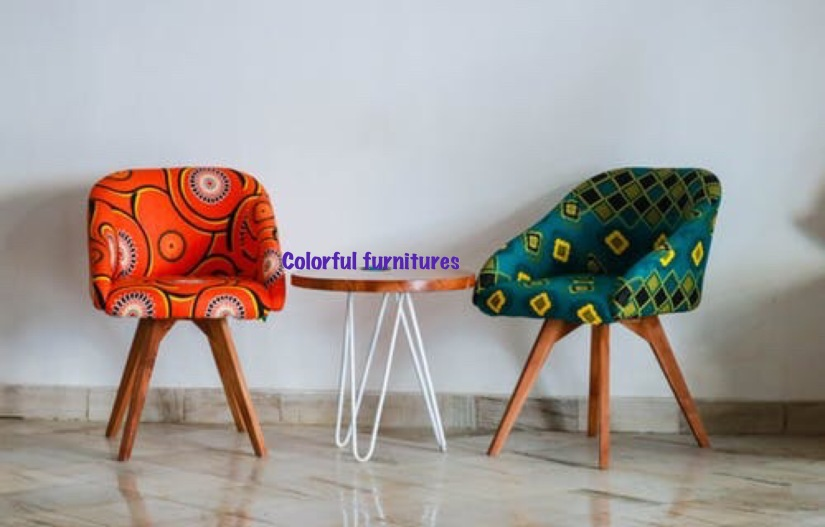 Adding colors to your life with a statement furniture piece.
