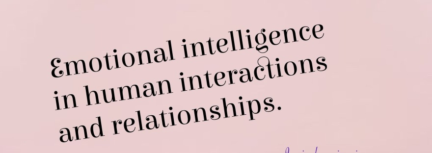 Emotional intelligence in human relationships.
